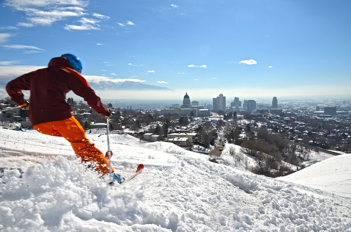Voor deze skisafari vlieg je naar Salt Lake City en binnen een uur sta je in het skigebied van je keuze
