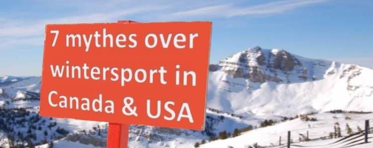 De grootste vooroordelen over skiën in Noord Amerika-1560514425