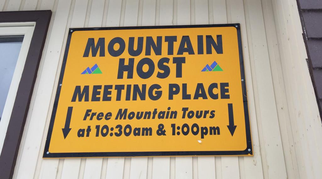 In de meeste skigebieden Canada en Amerika zijn er gratis moutain gidsen, zij laten graag hun skigebied aan je zien