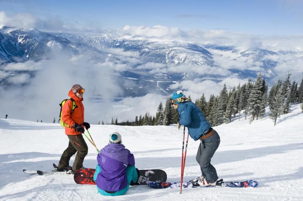Wintersport in Canada of Amerika, leer de skitermen die specifiek zijn voor je skivakantie zoals Kudos