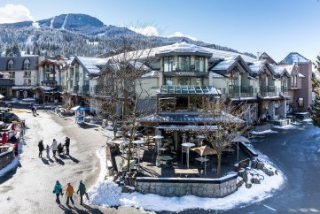 Wintersport Canada Whistler: Crystal Lodge