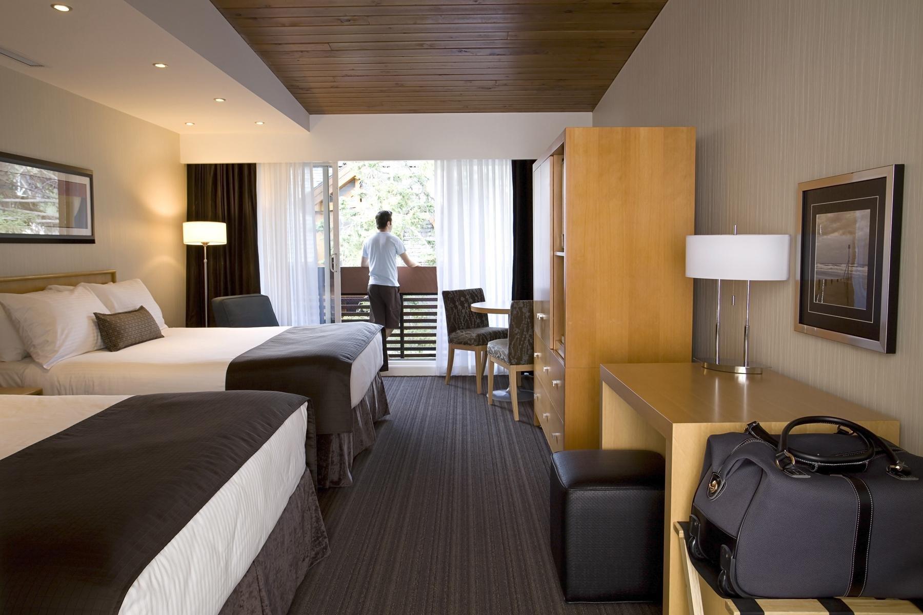 Banff Aspen Lodge premium room 2 queens