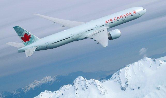 Air Canada naar Vancouver