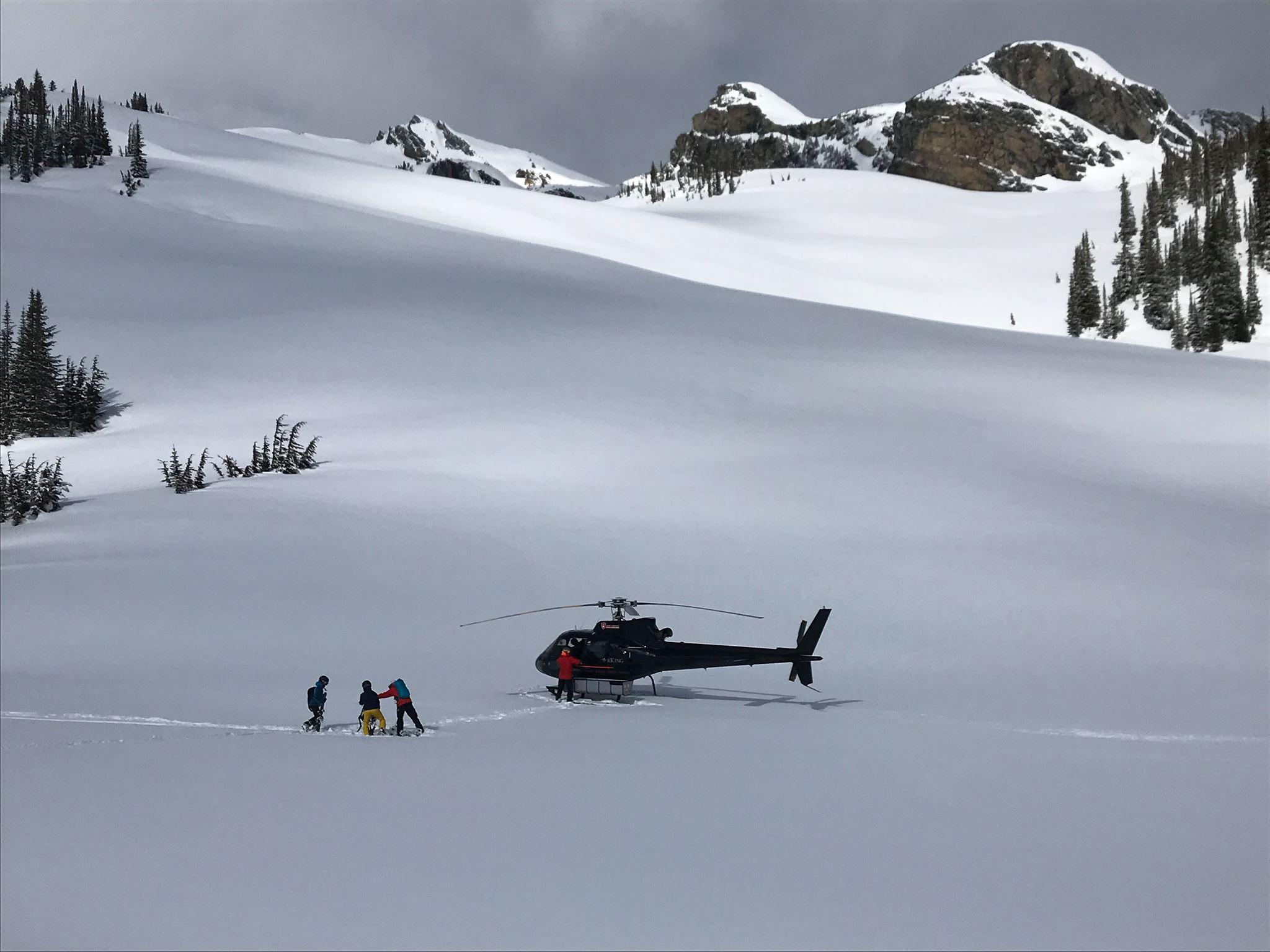 Helikopterski in Canada met WintersportCanadaAmerika