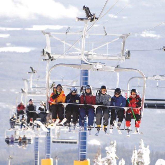 Wintersport Canada Amerika Big White 1x1