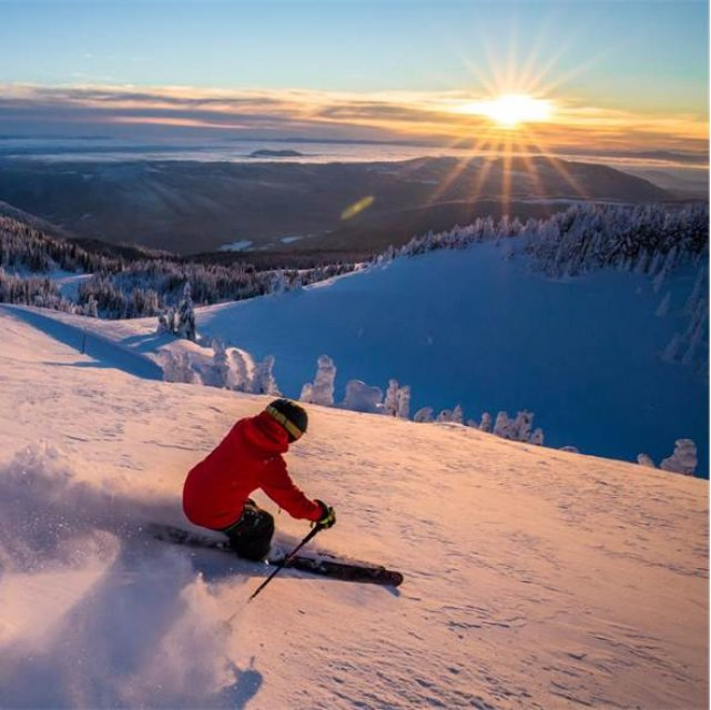 Wintersport Canada Amerika Sun Peaks 1x1