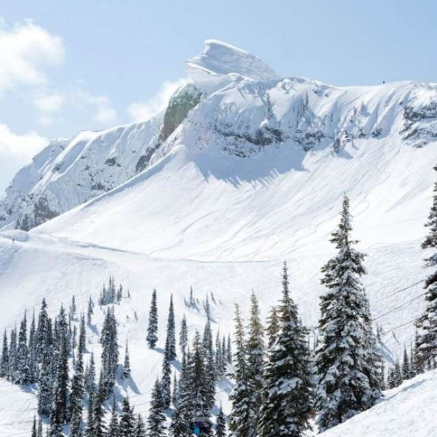 Wintersport Canada Amerika Kicking Horse 1x1