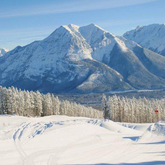 Wintersport Canada Amerika Kananaskis Nakiska 1x1