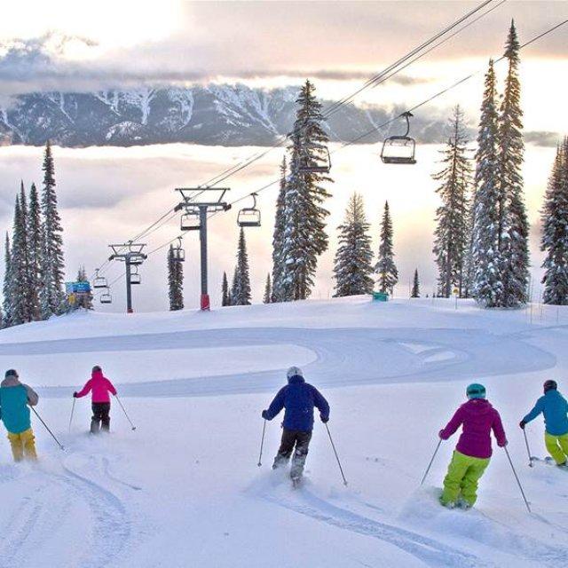 Wintersport Canada Amerika Fernie 1x1