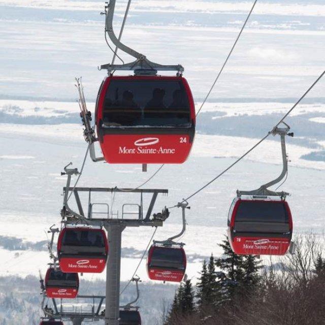 Wintersport Canada Amerika Mont Sainte Anne 1x1