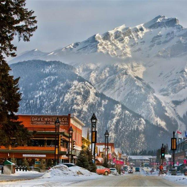 Wintersport Canada Amerika Banff 1x1