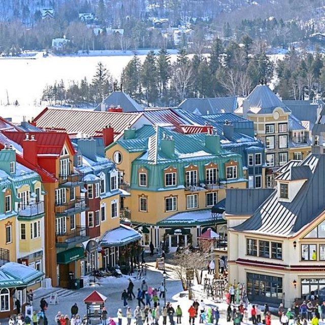 Wintersport Canada Amerika Mont Tremblant 1x1