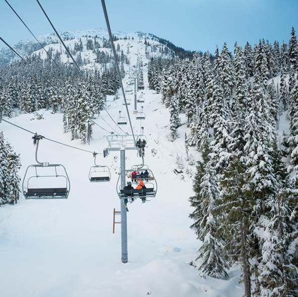 Wintersport Canada Amerika Whistler 1x1