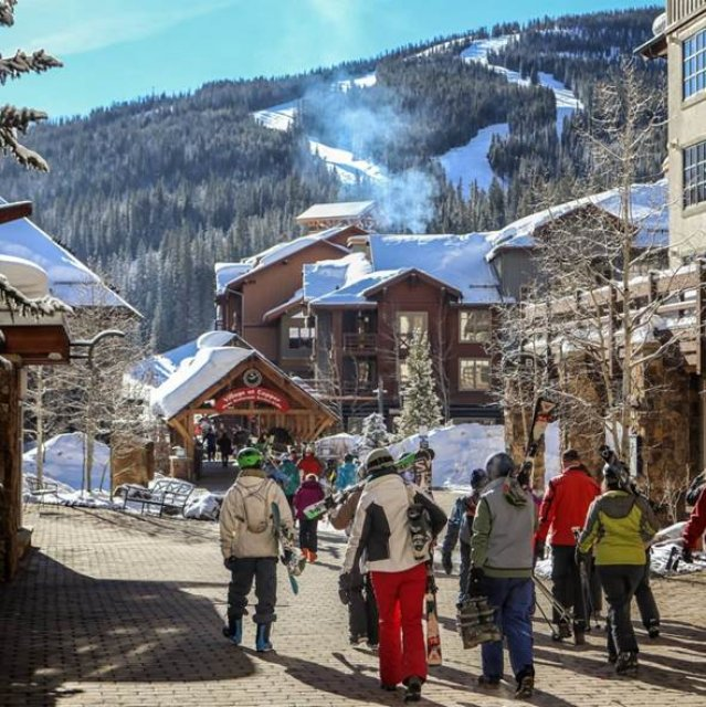 Wintersport Canada Amerika Copper Mountain 1x1