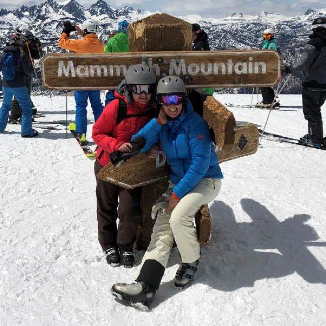 Wintersport Canada Amerika Mammoth Mountain 1x1