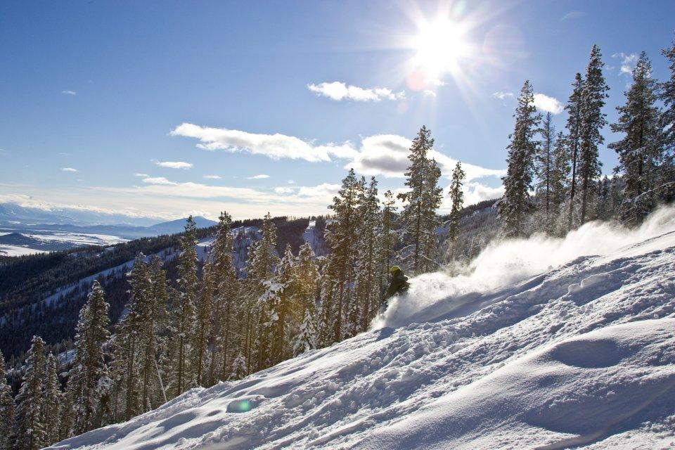 Skigebied Kimberley in Canada