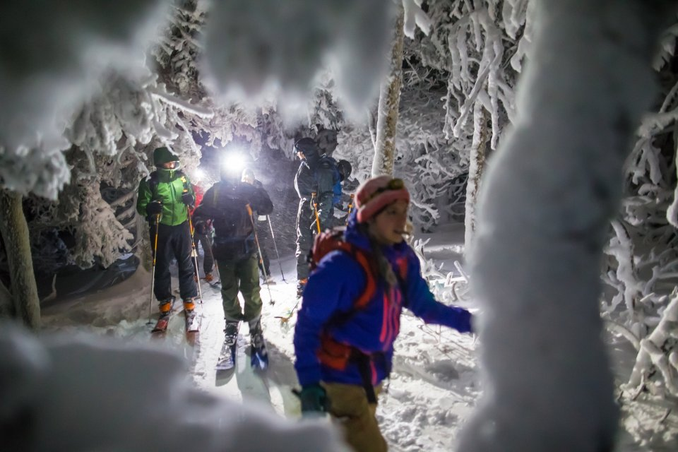 Skigebied Mont Tremblant, Quebec Canada