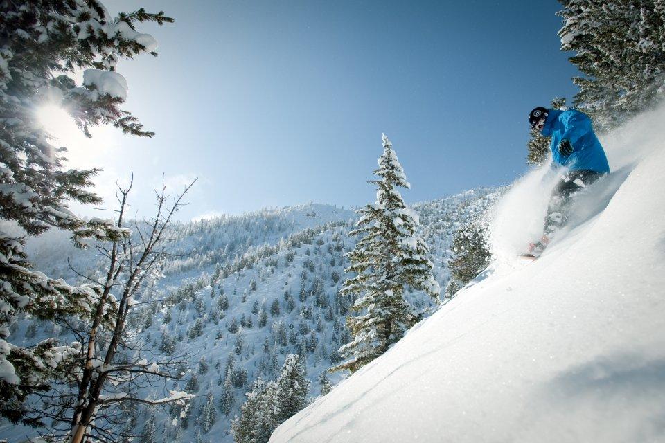 Skigebied Panorama Mountain Village, British Columbia, Canada