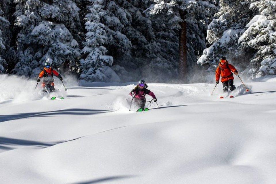 Skigebied Aspen, Colorado, Amerika