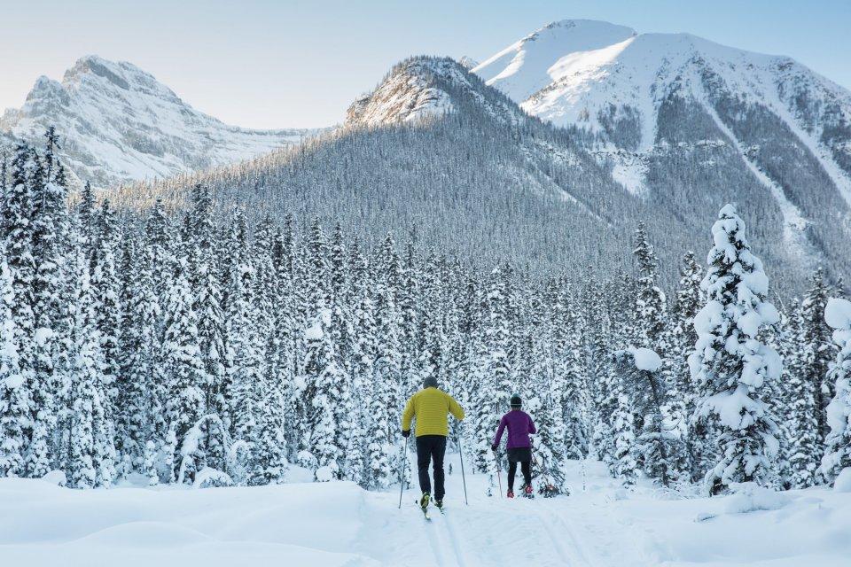 Skigebied Lake Louise