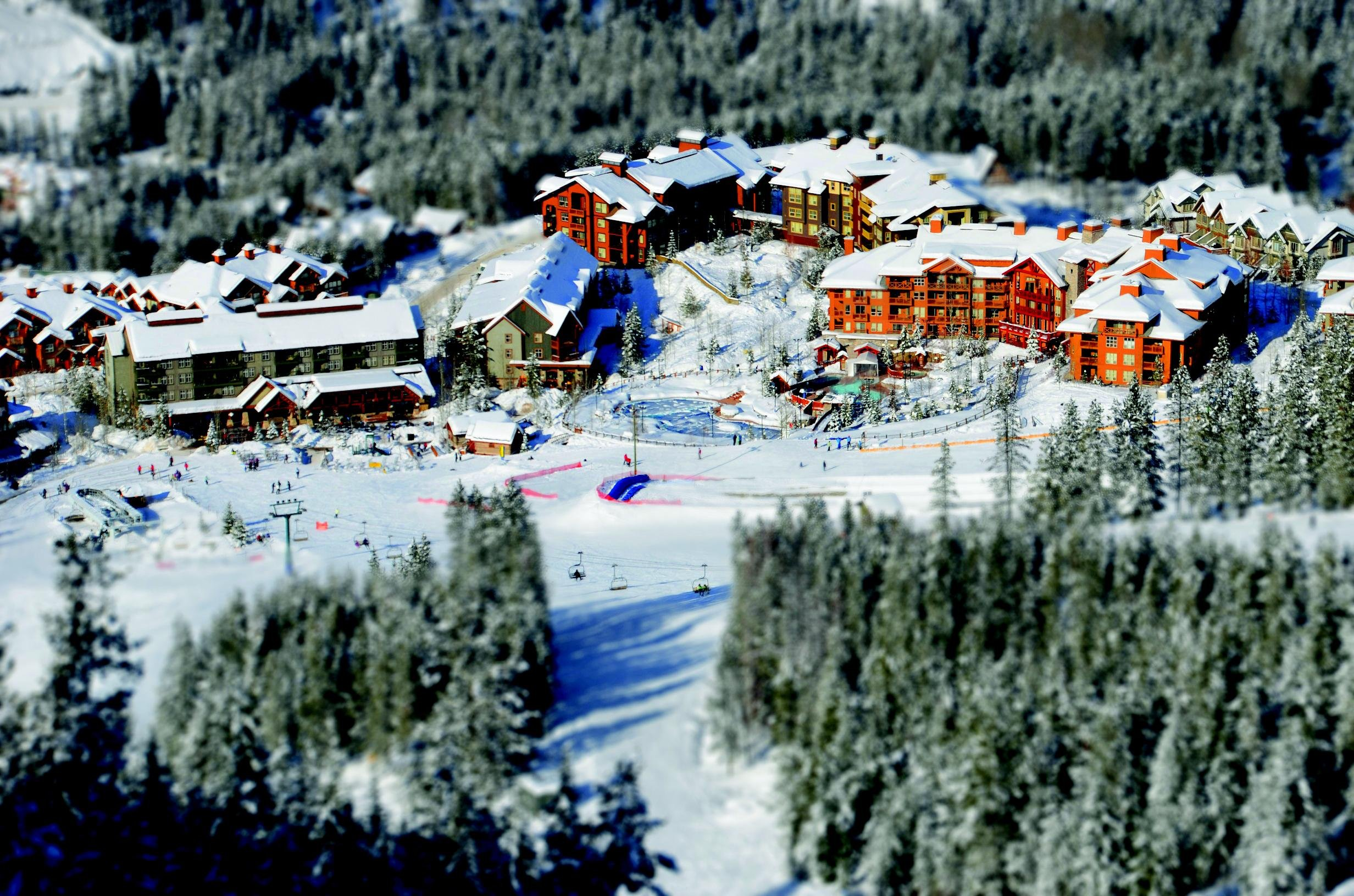 Skigebied Panorama Mountain Village