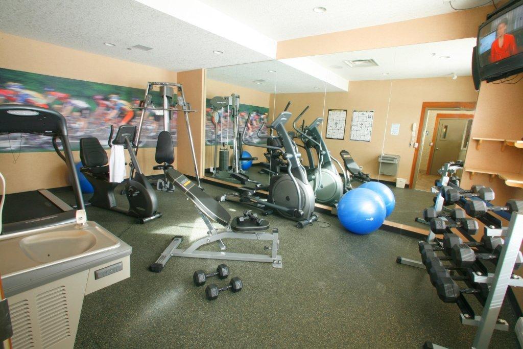 Fernie - Best Western Mountain Plus gym