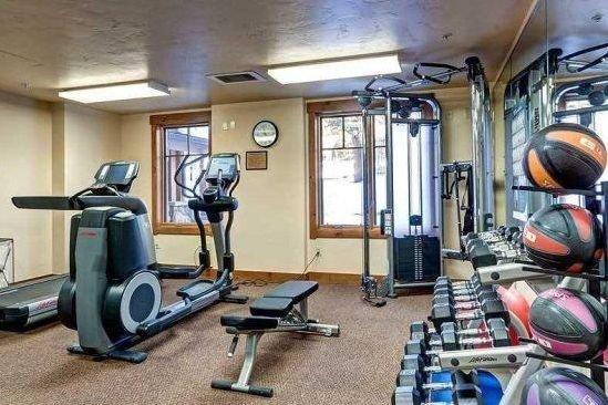 Breckenridge - Mountain Thunder Lodge gym