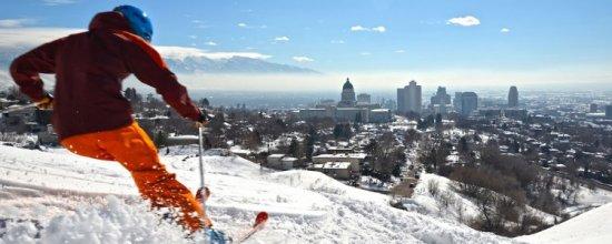 Ski en city