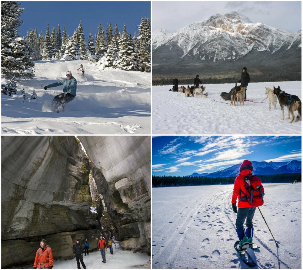 Het skigebied van Marmot Basin bij het Canadese Jasper is een heerlijk gebied voor beginners en gevorderde skiers en boarders