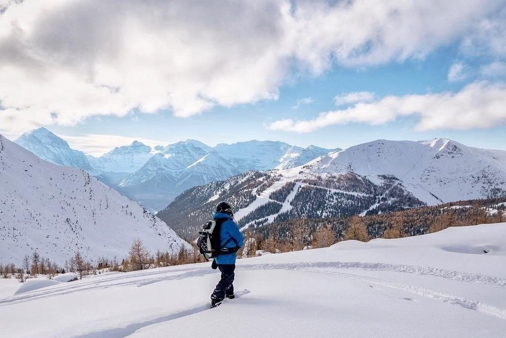 Lake Louise snow shoe