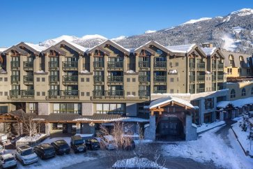 Whistler - Crystal Lodge exterieur