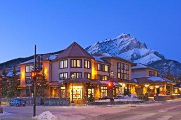 Banff - Elk & avenue hotel exterior