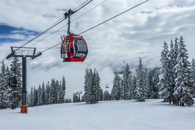 Aspen Snowmass gondel