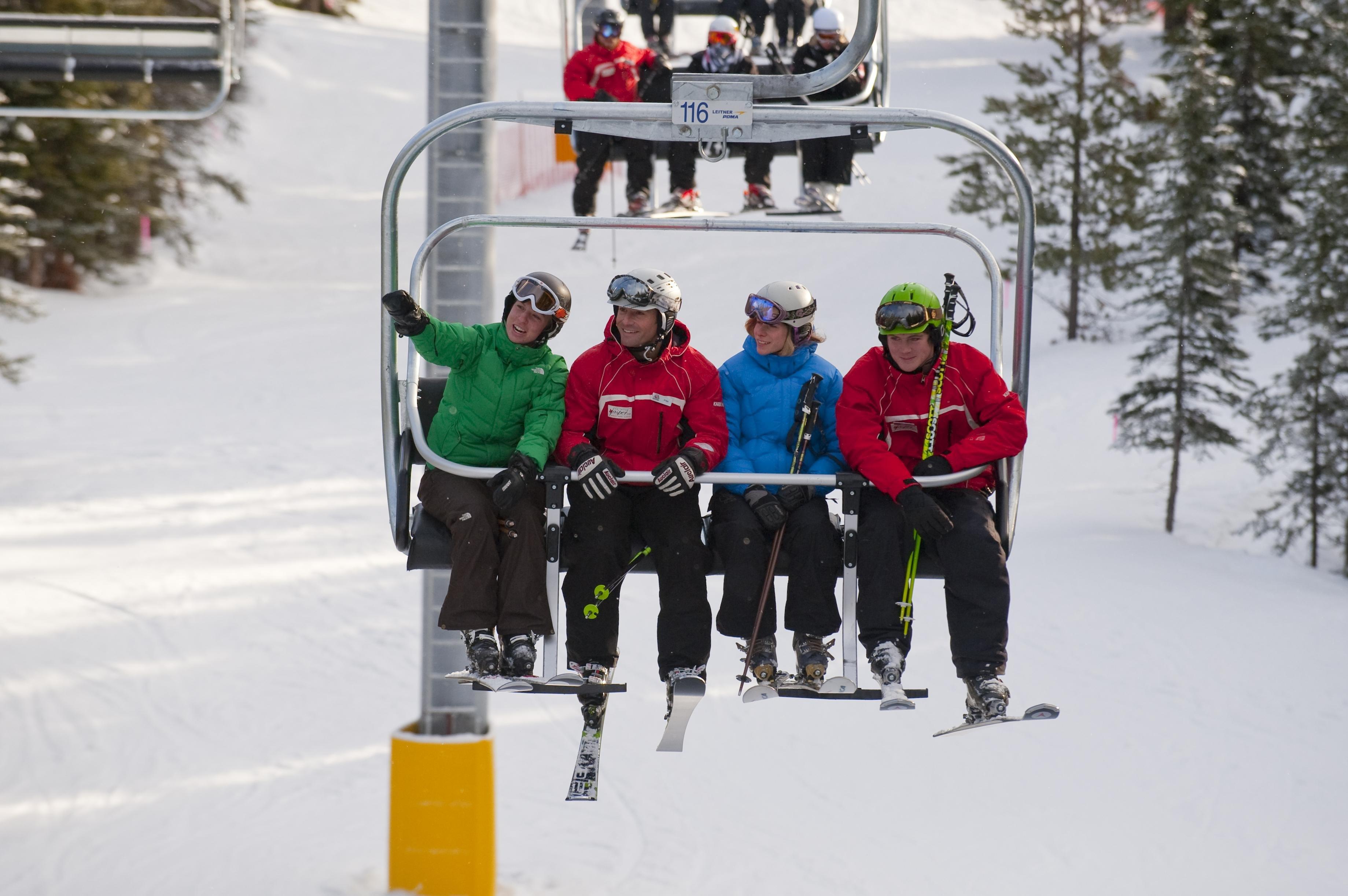 Skigebied Marmot Basin