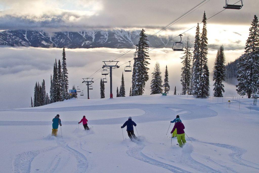 De Canadese wintersportgebieden Fernie en Kimberley zijn goed met elkaar te combineren in British Columbia