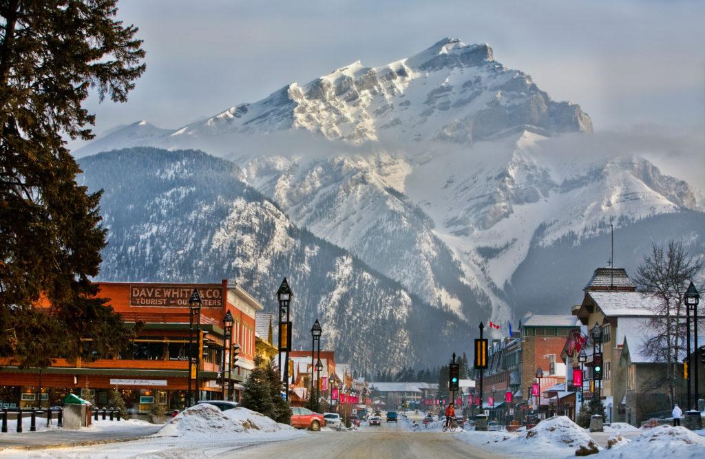 Banff is een perfecte bestemming voor je wintersportvakantie naar Canada