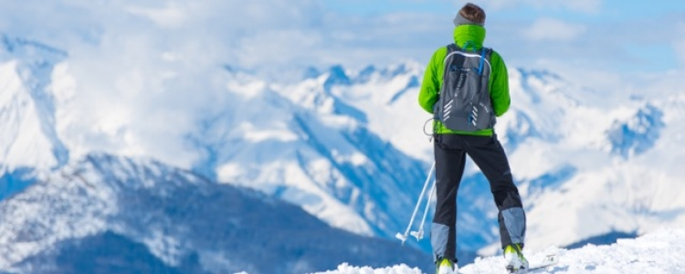 In de Noord Amerikaanse skigebieden kan het kouder worden dan in de Europese bergen, kleed je dus goed en warm aan