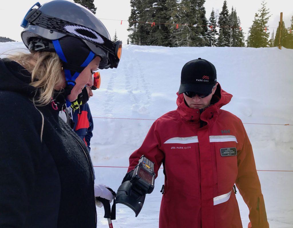 Else van WinterSportCanadaAmerika ervaart op de pistes van het skigebied Park City in Amerika de piste regels