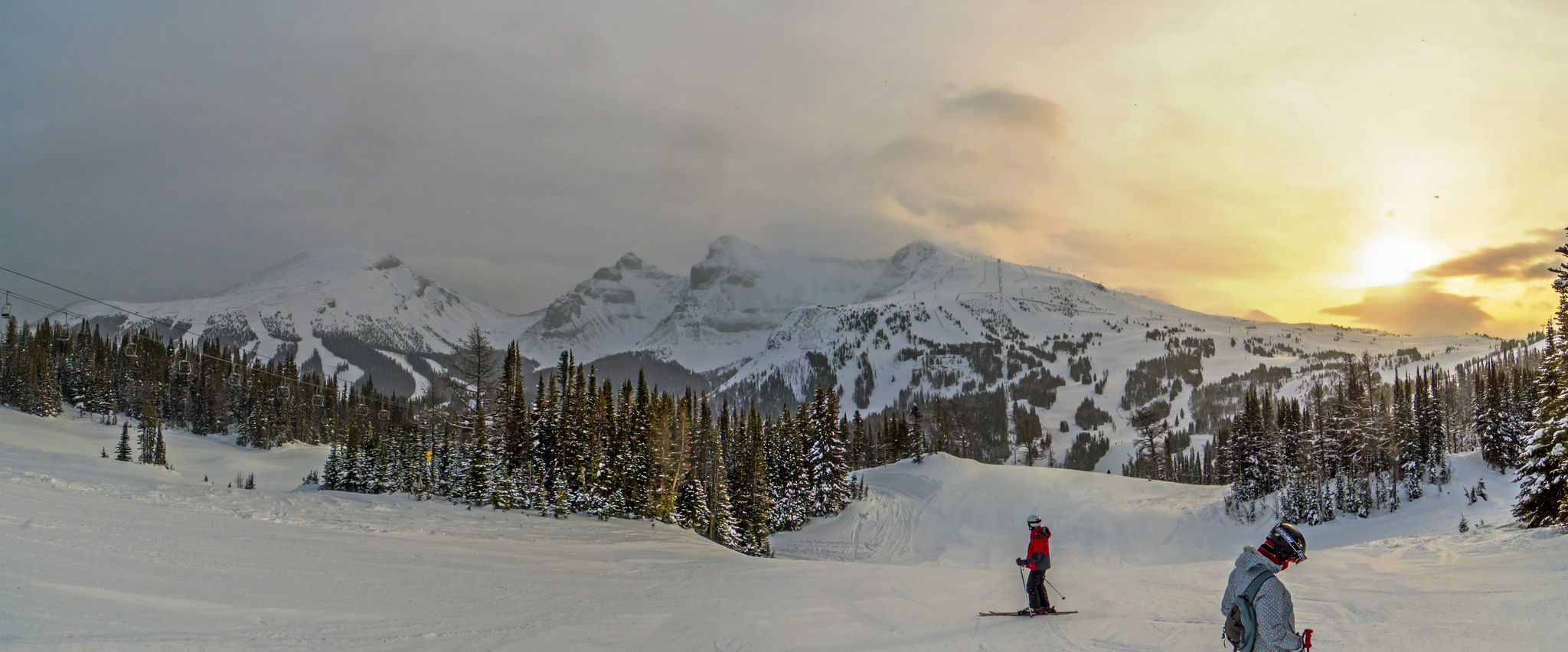 Vraag je gratis reisofferte aan naar de Canadese Rocky Moutains bij Wintersport Canada Amerika