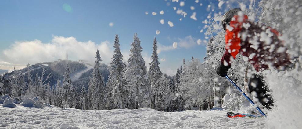 1 regio met 12 skigebieden in het zuiden van de Canadese provincie Quebec