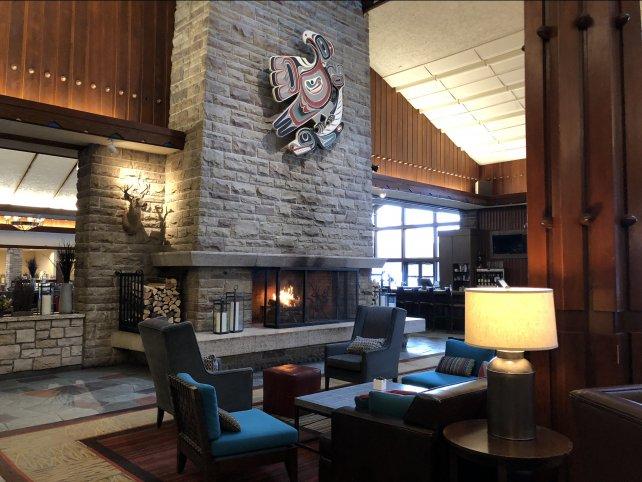 Fairmont Jasper Park Lodge Lobby