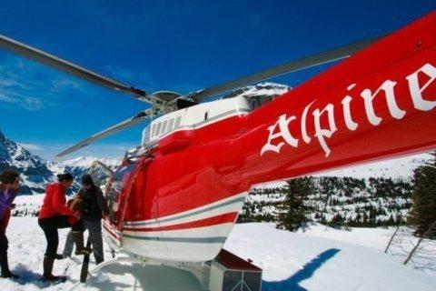Helikopter rondvluchten Banff