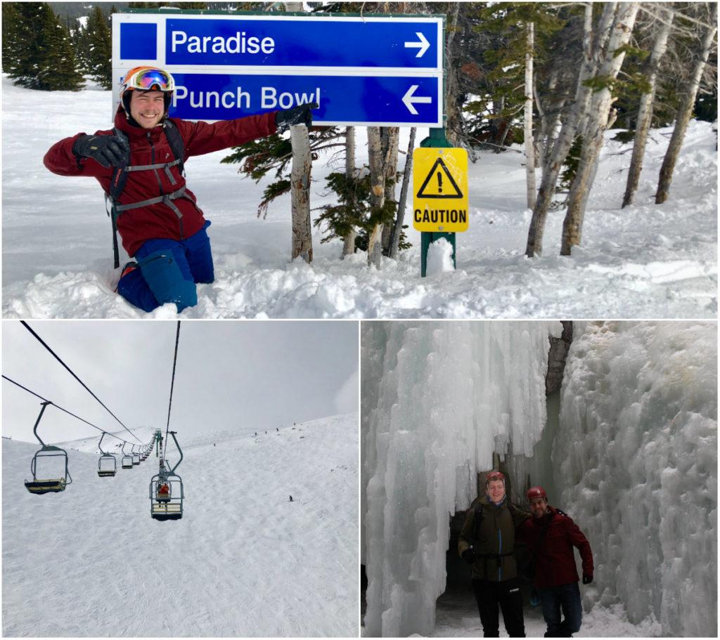 Als je in Jasper Alberta je skivakantie hebt geboekt, reserveer dan gelijk de Maligne Canyon walk