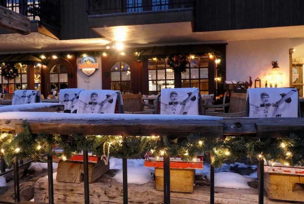 Alpenrose Restaurant Vail restaurant skivakantie