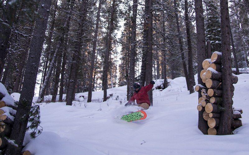 Wintersport in de SkiBig3 in Canada met tips voor de beste poeder pistes, dit is de piste voor de gevorderden Norquay 90 Glades (# 51)