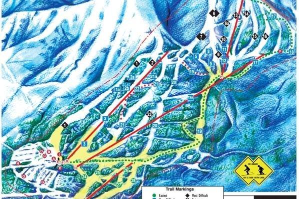 skigebied kananaskis nakiska