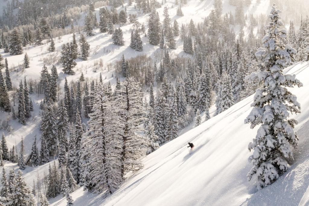 Powdermountain ligt in de Amerikaanse staat Utah en is een fantastisch gebied voor de betere skier.