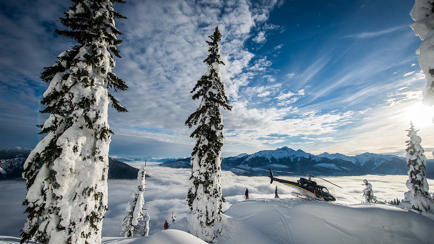 Laat je droom uitkomen en boek je heliskivakantie bij Wintersport Canada Amerika, of combineer je heliski met een skisafari