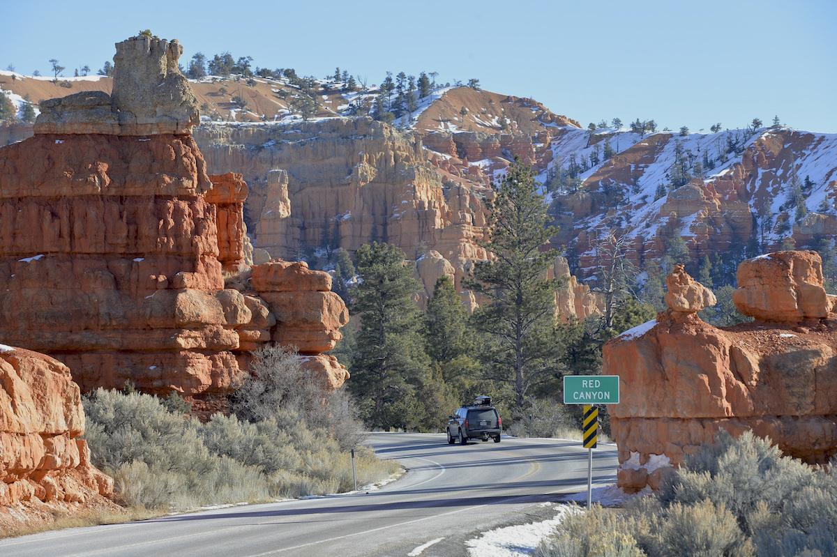 Utah National Park Red Canyons
