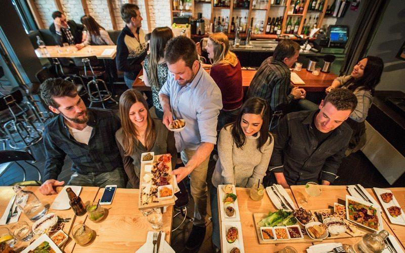 Als je op wintersport vakantie bent in Banff, ga dan tenminste 1 avond naar restaurant The Block Kitchen + Bar